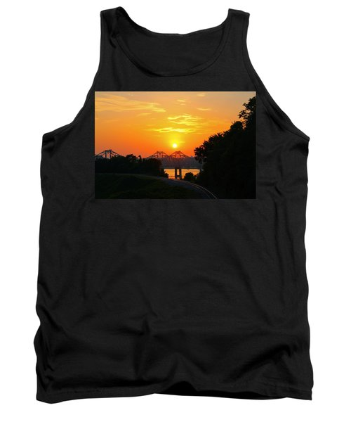 Natchez Sunset Tank Top