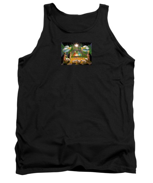 Tank Top featuring the painting Nativity by Jean Pacheco Ravinski