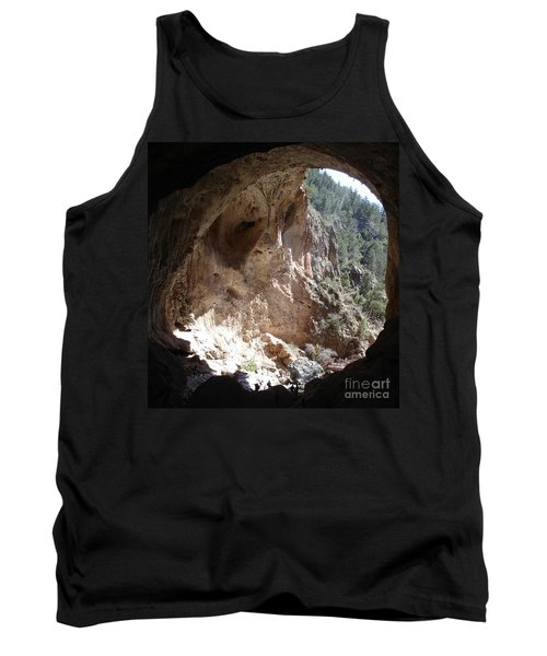 Tank Top featuring the photograph Natural Bridge View by Kerri Mortenson