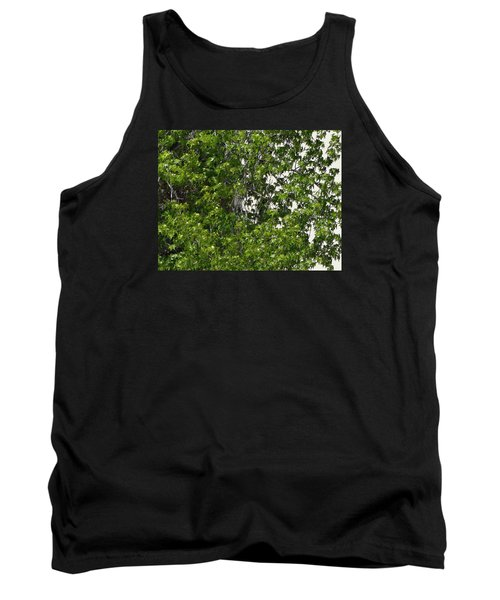 Nature's Art - Wellness Works Glendale - Face In The Tree  Tank Top