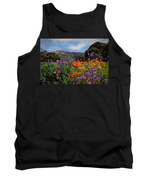 Nature's Bouquet  Tank Top by Lynn Bauer