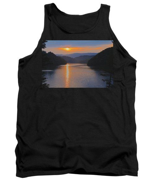 Natures Eyes Tank Top by Tom Culver