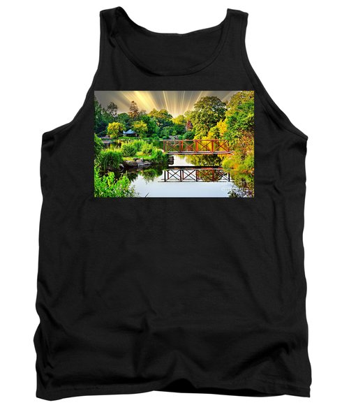 Tank Top featuring the photograph Nature's Reflections by Judy Palkimas