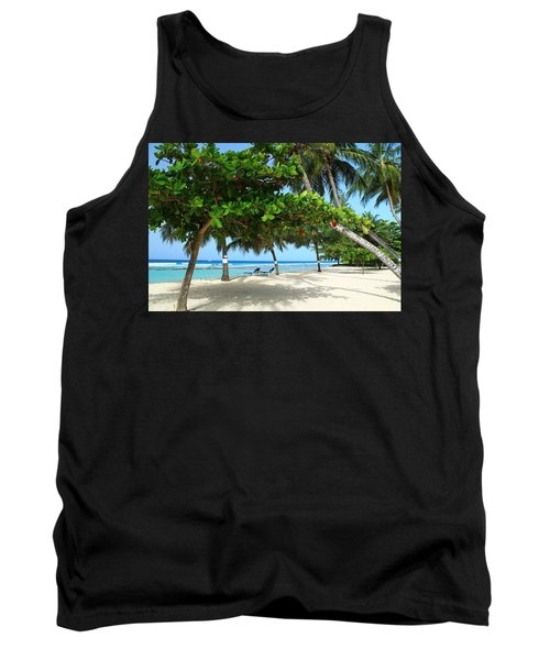 Natures Umbrella Tree Tank Top