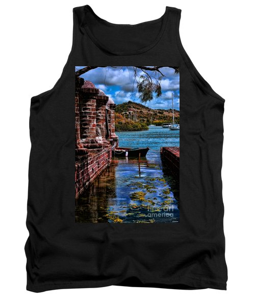 Nelson's Dockyard Antigua Tank Top by Tom Prendergast