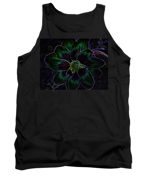 Tank Top featuring the photograph Neon Glow by Aimee L Maher Photography and Art Visit ALMGallerydotcom