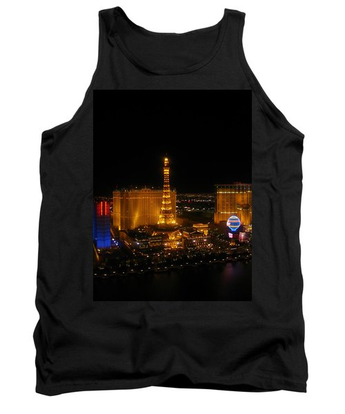 Tank Top featuring the photograph Neon Illusion by Angela J Wright