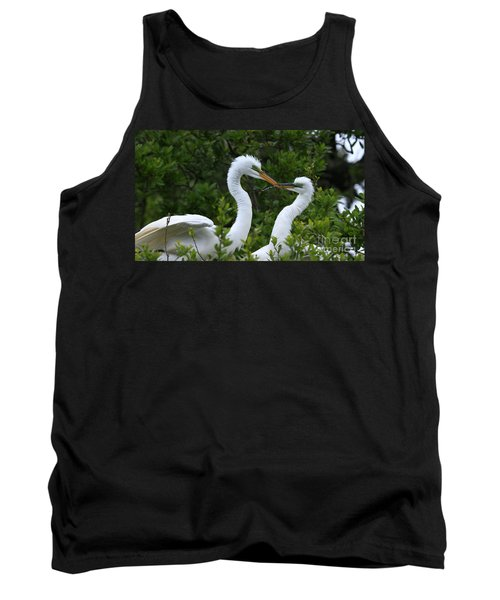 Tank Top featuring the photograph Nest Building by John F Tsumas
