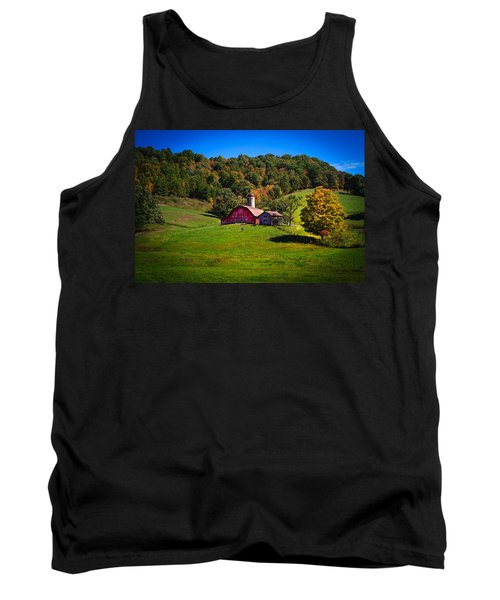 nestled in the hills of West Virginia Tank Top