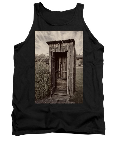 Nevada City Ghost Town Outhouse - Montana Tank Top