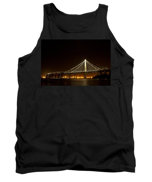New Bay Bridge Tank Top by Bill Gallagher
