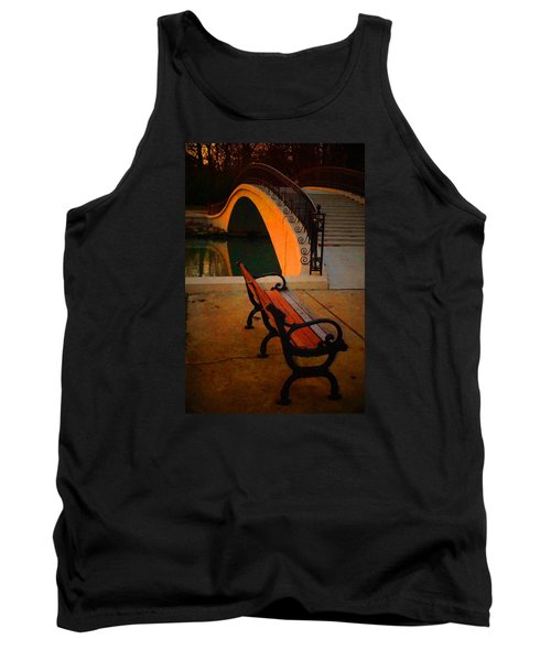 New Bridge And Bench Tank Top