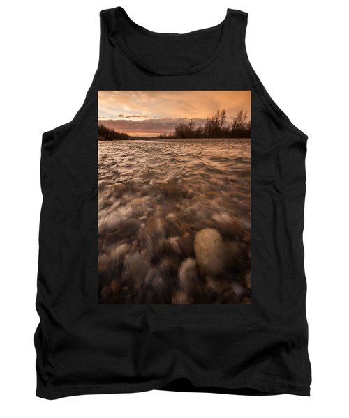 Tank Top featuring the photograph New Dawn by Davorin Mance