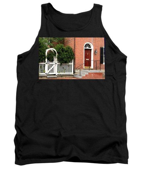 New England Street Scene Tank Top