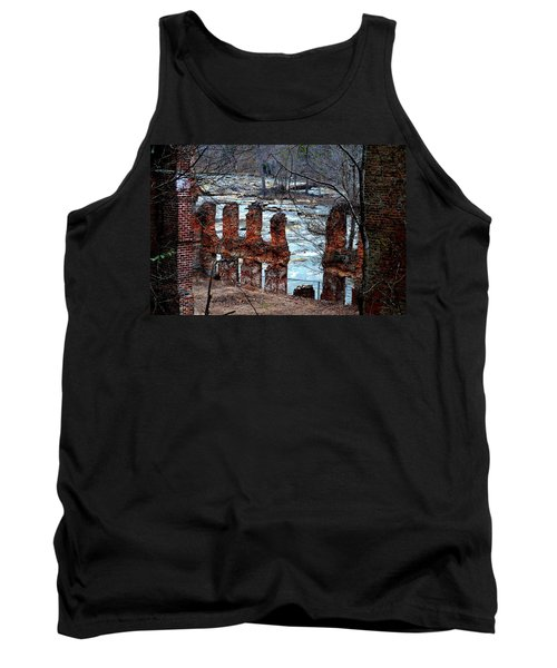 New Manchester Manufacturing Company Ruins Tank Top by Tara Potts