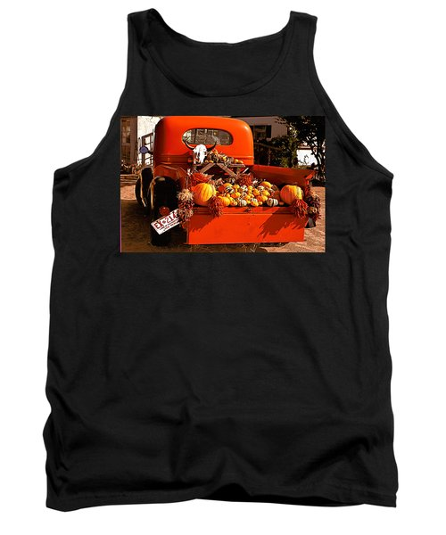 New Mexico Truck Tank Top by Jean Noren