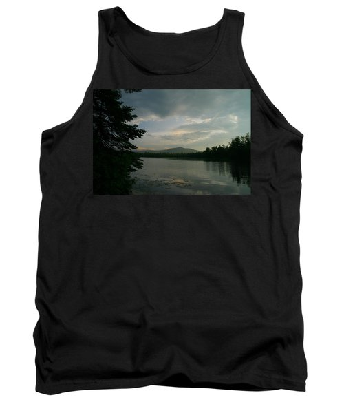 New Morning On Lake Umbagog  Tank Top by Neal Eslinger