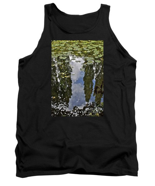 Reflections Amongst The Lily Pads Tank Top