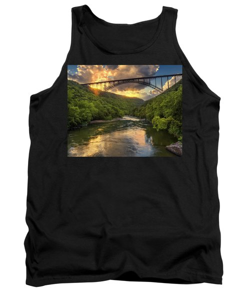 New River Evening Glow Tank Top