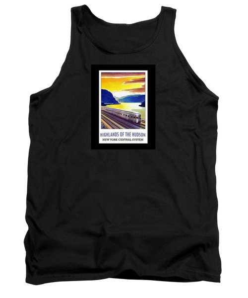 New York Central Vintage Poster Tank Top