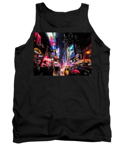 New York City Night Tank Top