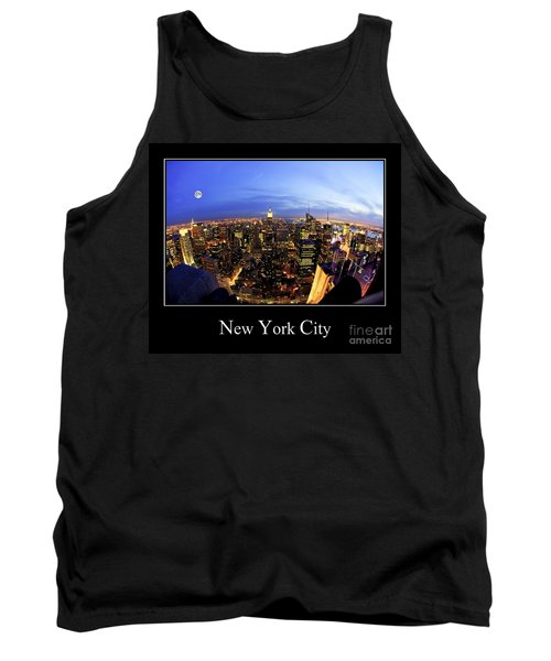New York City Skyline Tank Top
