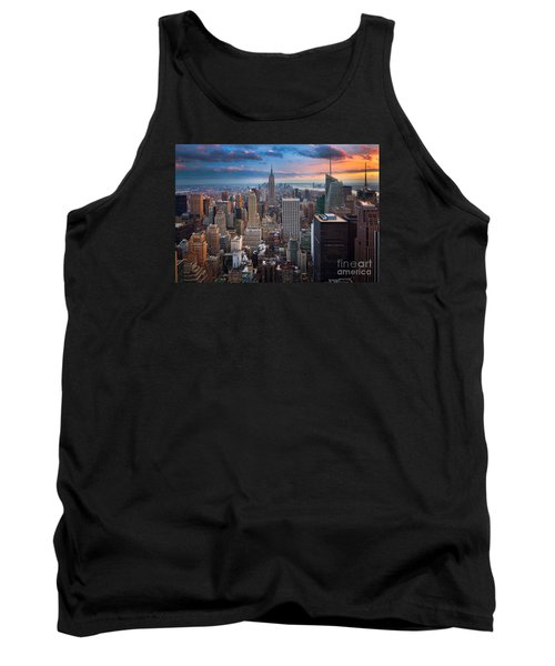 New York New York Tank Top by Inge Johnsson
