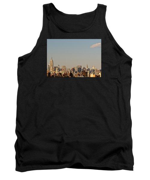 New York City Skyline Tank Top by Kerri Farley