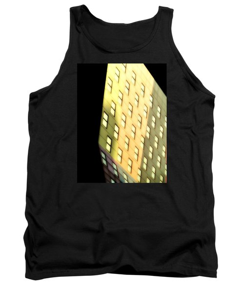 Tank Top featuring the photograph New York Sunset by Newel Hunter