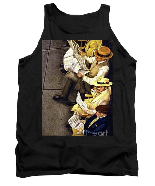 New York Times Tank Top