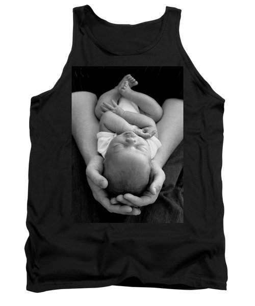 Newborn In Arms Tank Top by Lisa Phillips