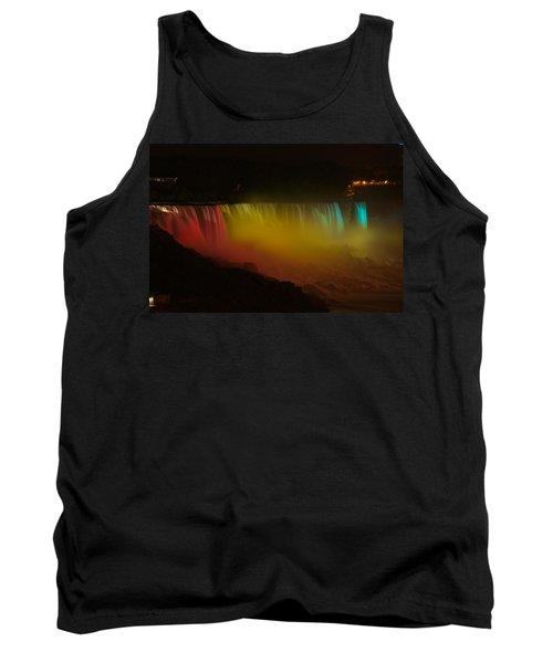 Niagara Falls A Glow Tank Top by Dave Files