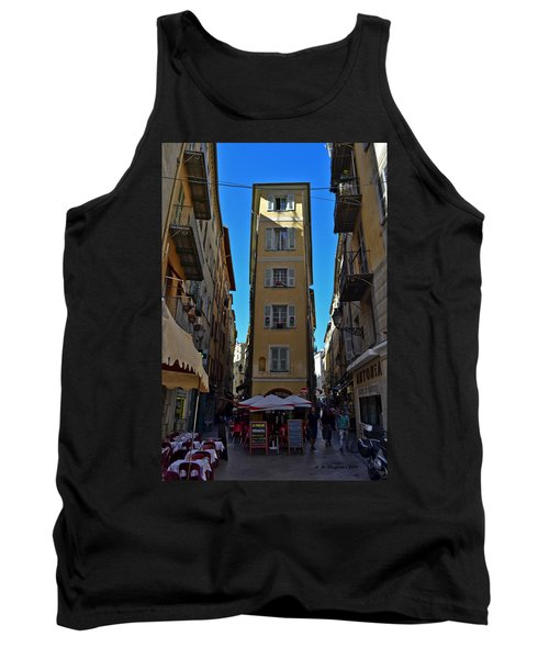 Tank Top featuring the photograph Nice - La Maison by Allen Sheffield