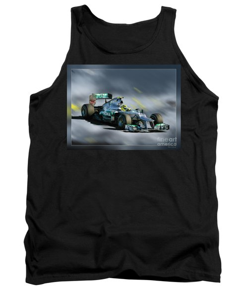 Nico Rosberg Mercedes Benz Tank Top