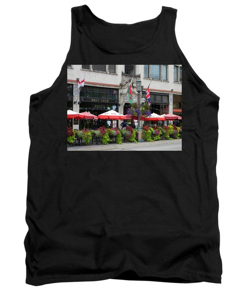 Nicollet Ave. Restaurant 2 Minneapolis Tank Top