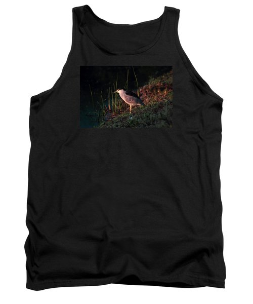 Night Heron  Tank Top by Duncan Selby