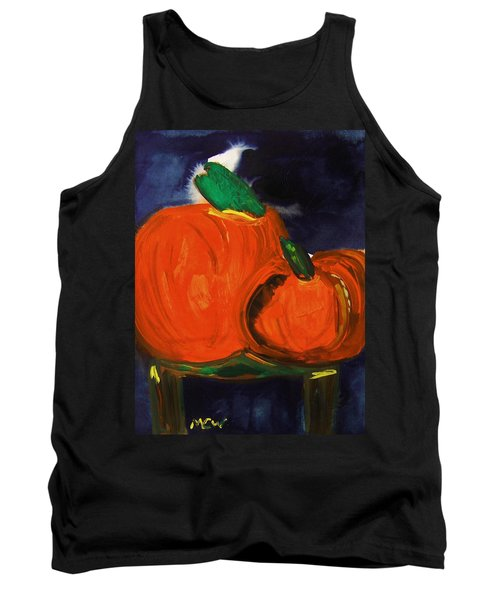 Night Pumpkins Tank Top