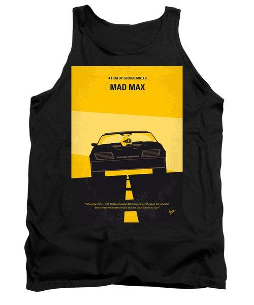 No051 My Mad Max Minimal Movie Poster Tank Top