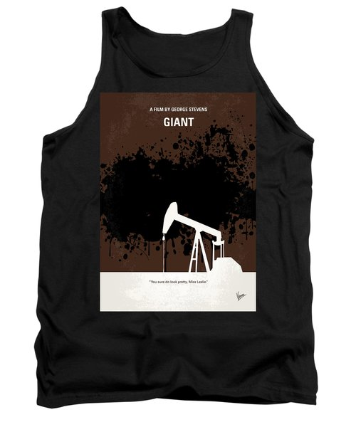 No102 My Giant Minimal Movie Poster Tank Top by Chungkong Art