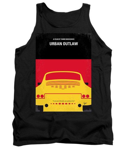 No316 My Urban Outlaw Minimal Movie Poster Tank Top