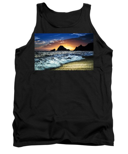 Norcal Sunset On Jenner Beach Tank Top
