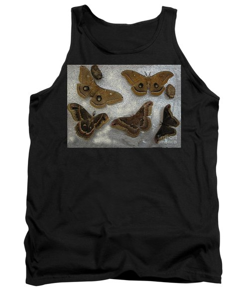 North American Large Moth Collection Tank Top