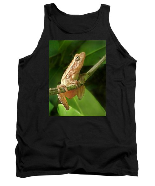 Northern Spring Peeper Tank Top by William Tanneberger