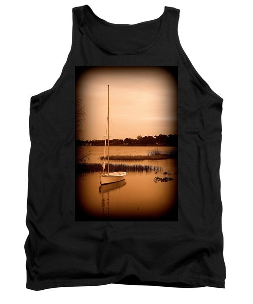 Tank Top featuring the photograph Nostalgic Summer by Laurie Perry