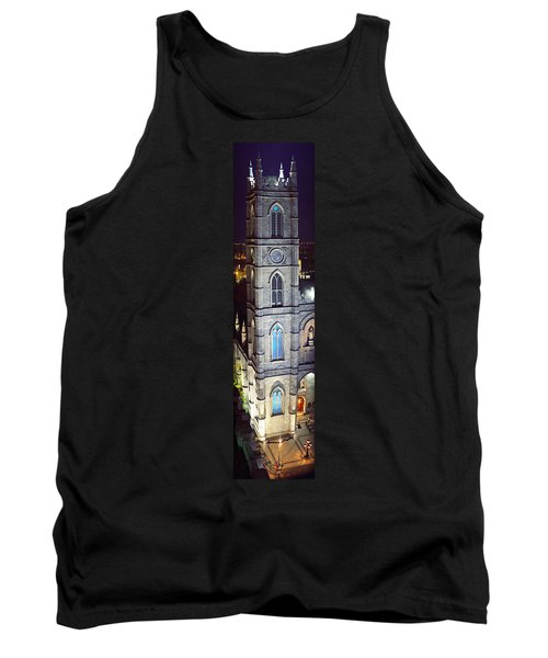 Notre Dame De Montreal At Night Tank Top