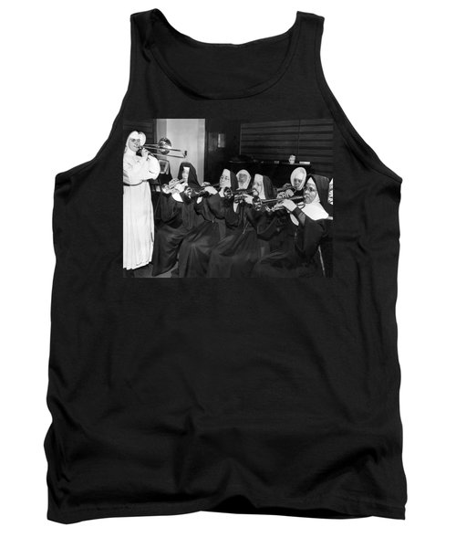 Nuns Rehearse For Concert Tank Top