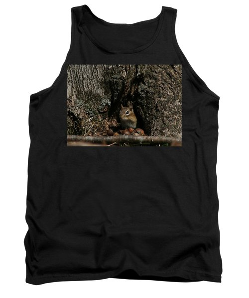Nut Therapy  Tank Top by Neal Eslinger