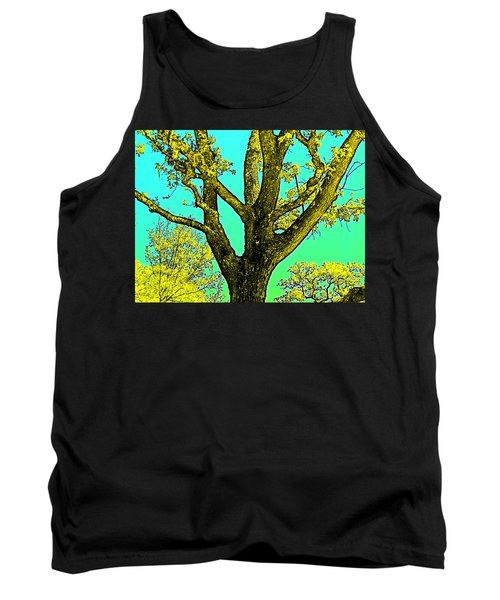 Tank Top featuring the photograph Oaks 3 by Pamela Cooper