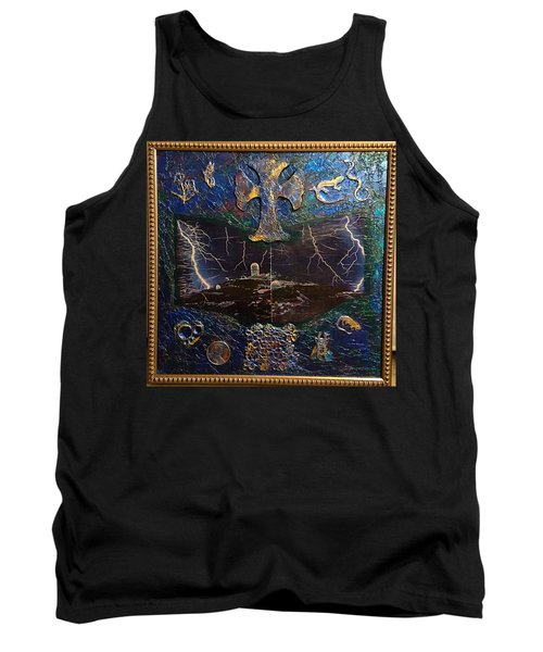 Observatory Life By Alfredo Garcia Tank Top