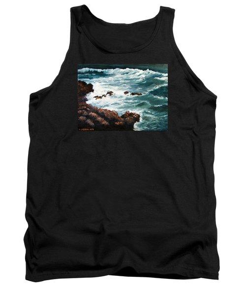 Ocean Rocks  Tank Top